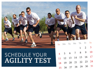 Schedule your agility test